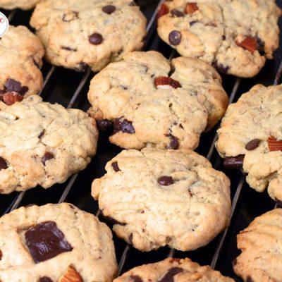 ypatingai skanūs sausainiai su šokolado gabaliukais
