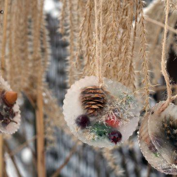 žiemos žaidimai kuriame ledo dekoracijas su vaikais